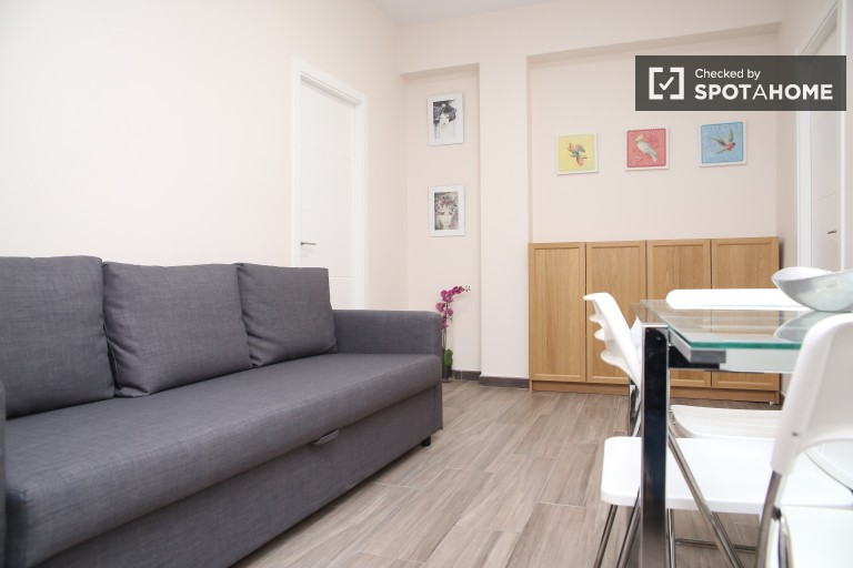 Renovated 2 room apartment with air conditioning in Triana, Seville