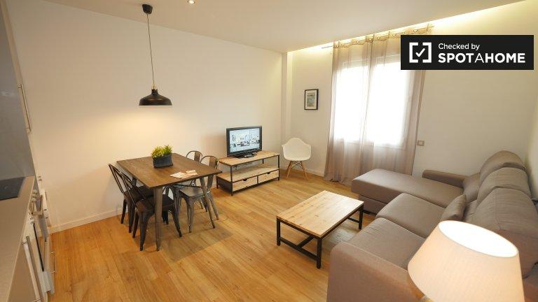 Apartamento de 2 quartos para alugar em El Raval, Barcelona