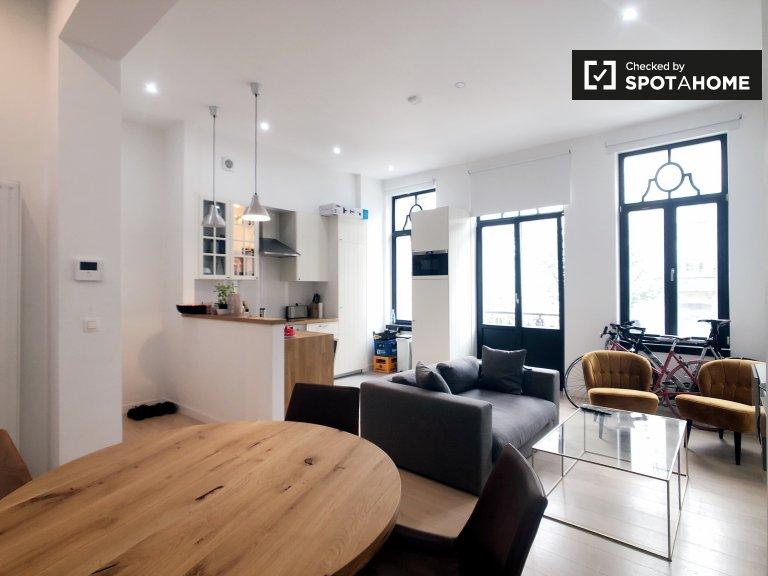 Mieszkanie z 2 sypialniami do wynajęcia w Plasky, Bruksela