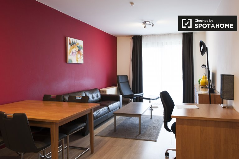 Beautiful 2-bedroom apartment for rent in Brussels.