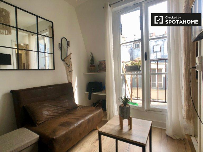 Magnifique studio à louer dans le 9ème arrondissement de Paris
