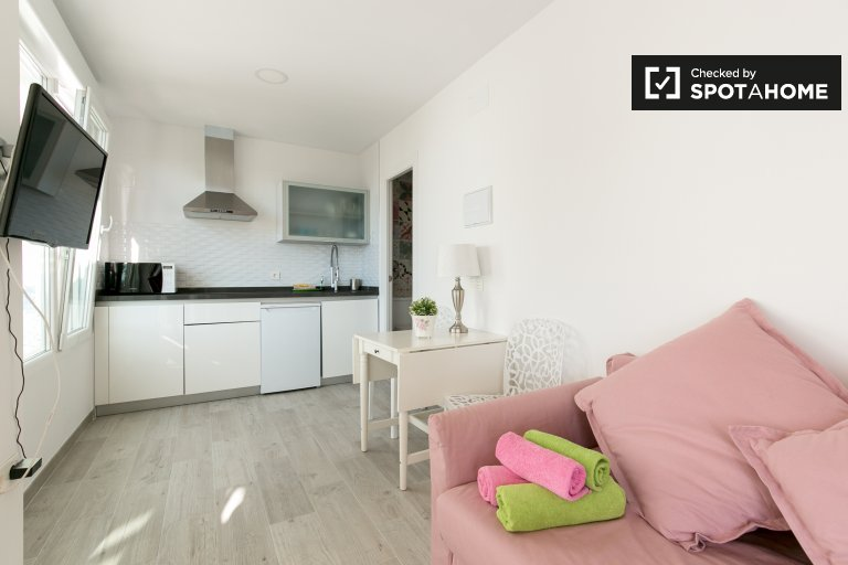 Studio apartment with terrace for rent in San Miguel Alto