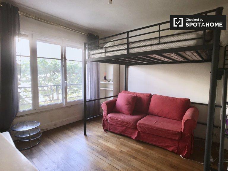 Studio apartment for rent in Charenton, Paris