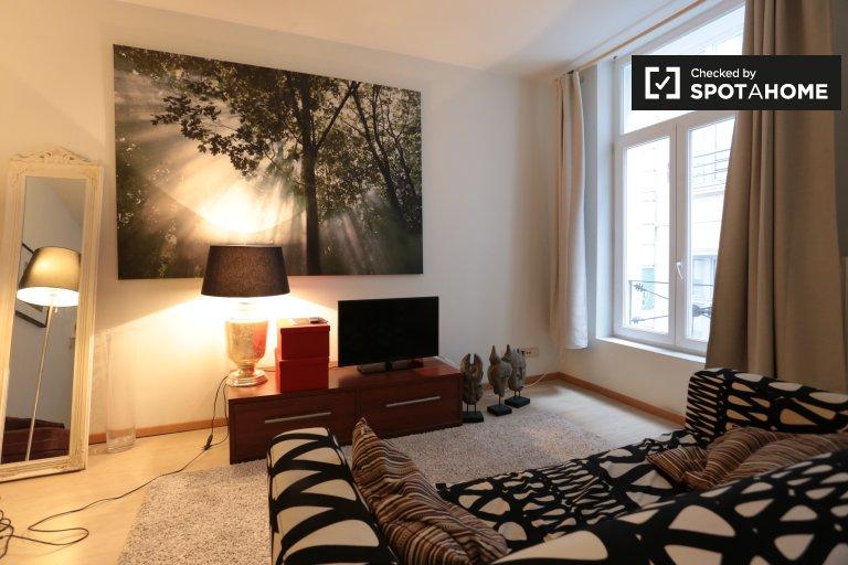 Apartamento de 1 dormitorio en alquiler en el centro de la ciudad, Bruselas.