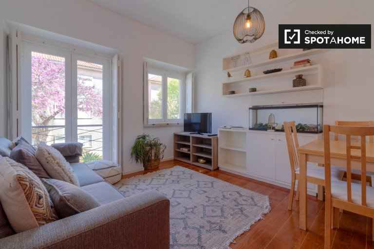 1-bedroom apartment for rent in Alvalade, Lisbon