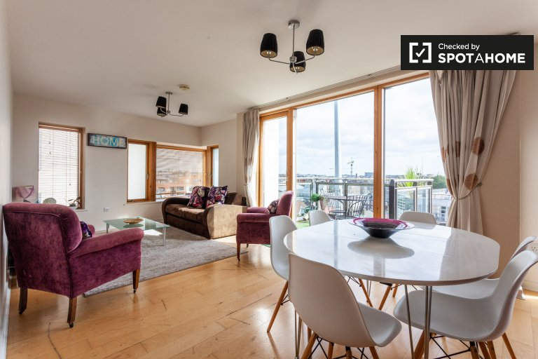 3-pokojowe mieszkanie do wynajęcia w Stoneybatter