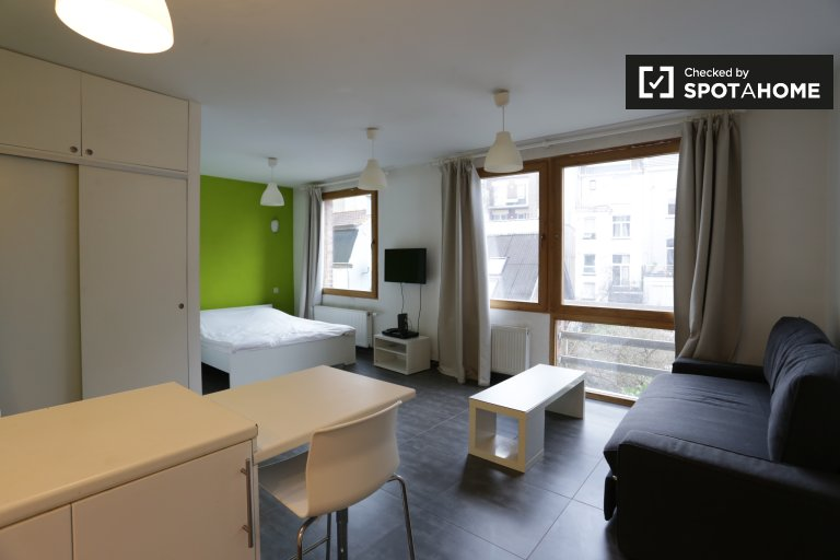 Cosy studio apartment for rent in lively Saint Gilles