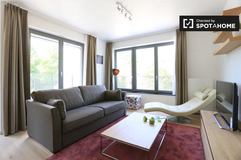 Fab 1-Zimmer-Wohnung zur Miete in Ixelles, Brüssel
