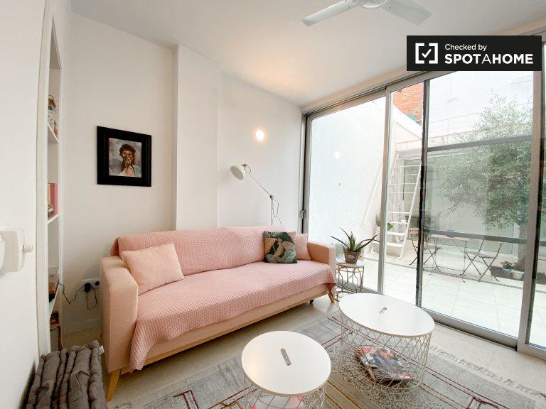 El Cabanyal'de kiralık 1 yatak odalı daire