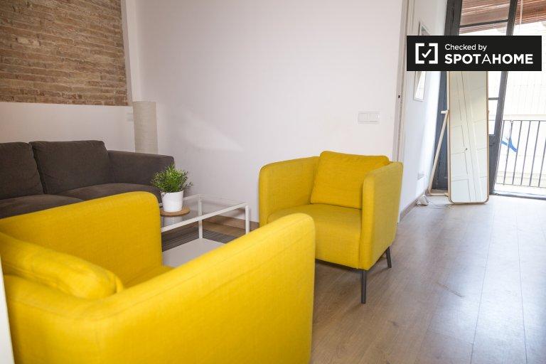 Bunte 2-Zimmer-Wohnung zur Miete in El Raval, Barcelona