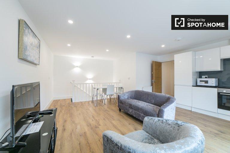 Elegancki apartament z 2 sypialniami do wynajęcia w Lambeth w Londynie