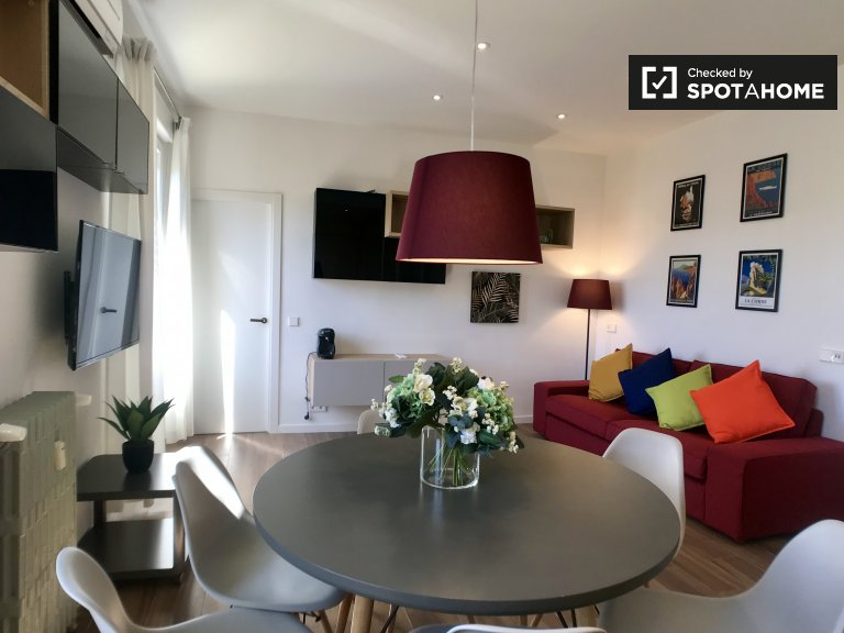 3-bedroom apartment for rent in Atocha, Madrid