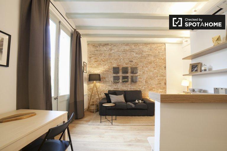 2-pokojowe mieszkanie do wynajęcia w El Raval, Barcelona