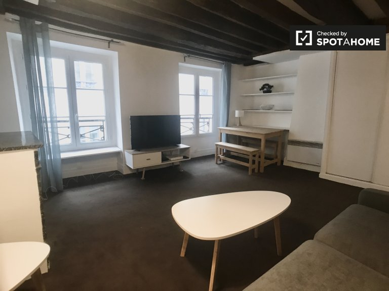 1-bedroom apartment for rent in Le Marais, Paris