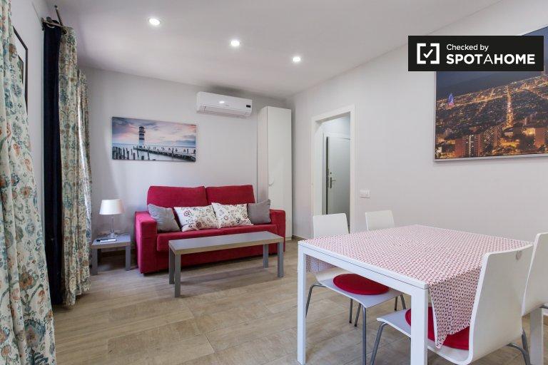 Appartement frais 1 chambre à louer, Poble-sec, Barcelone