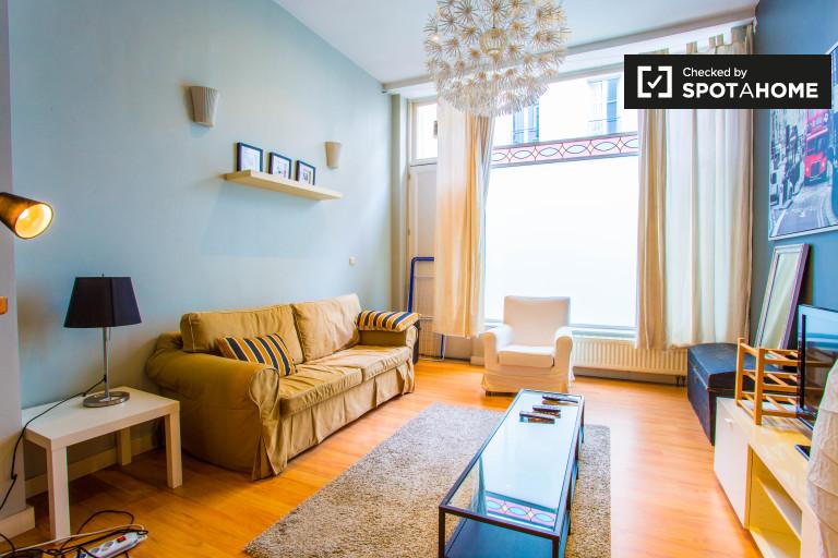 Appartamento in affitto nel quartiere europeo, a Bruxelles 1 camera da letto
