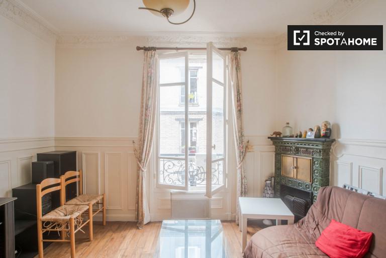 Cozy 2-bedroom apartment near Montmartre in the 18th arrondissement