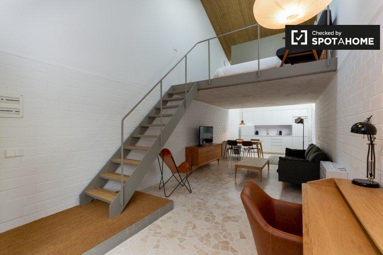 Maravilloso estudio en alquiler en Tetuán, Madrid