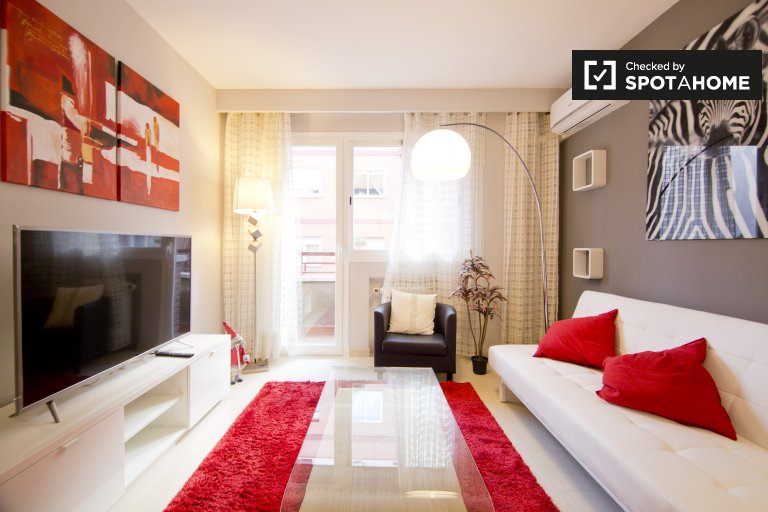 Lovely 1-bedroom apartment for rent in Charmartín, Madrid