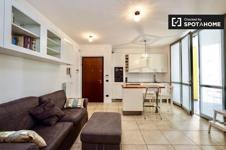 apartamento de 1 dormitorio en alquiler en Città Studi, Milán