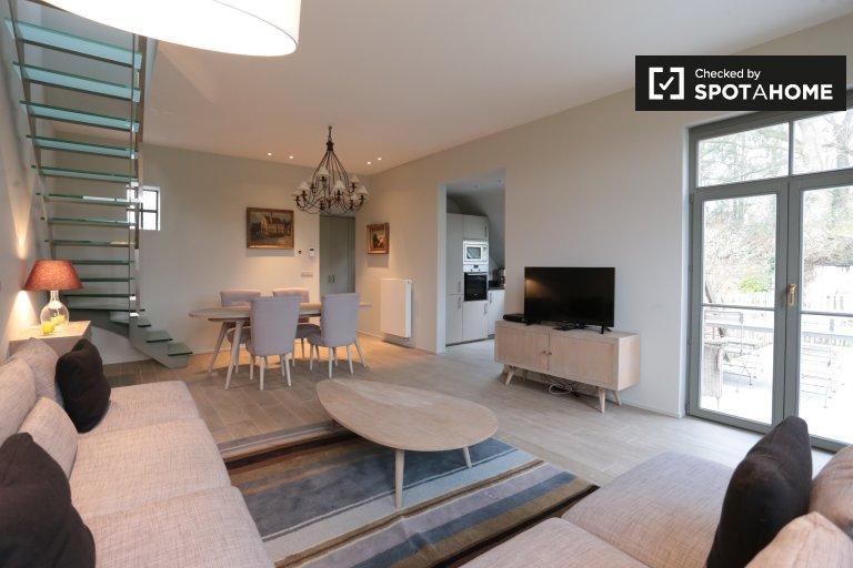 Sint-Genesius-Rode, Brüksel'de kiralık 3 yatak odalı ev
