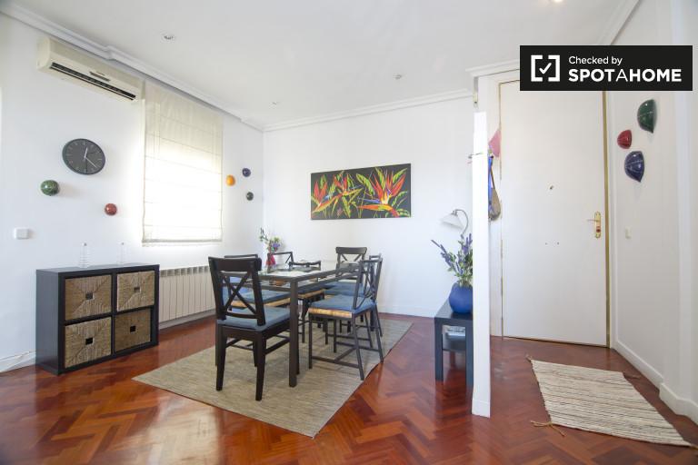 Apartamento de 2 quartos para alugar em Salamanca, Madrid