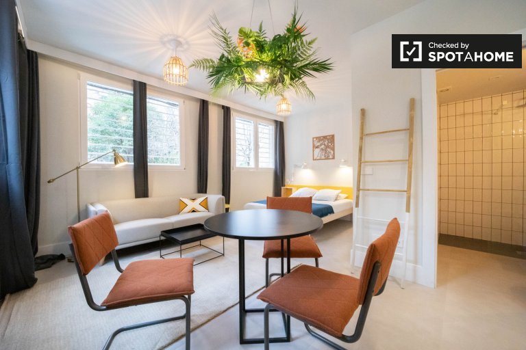Stunning studio apartment for rent in Ciudad Lineal, Madrid