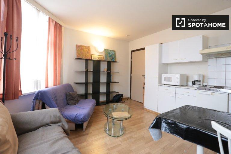 apartamento de 1 dormitorio en alquiler en Saint Gilles, Bruselas