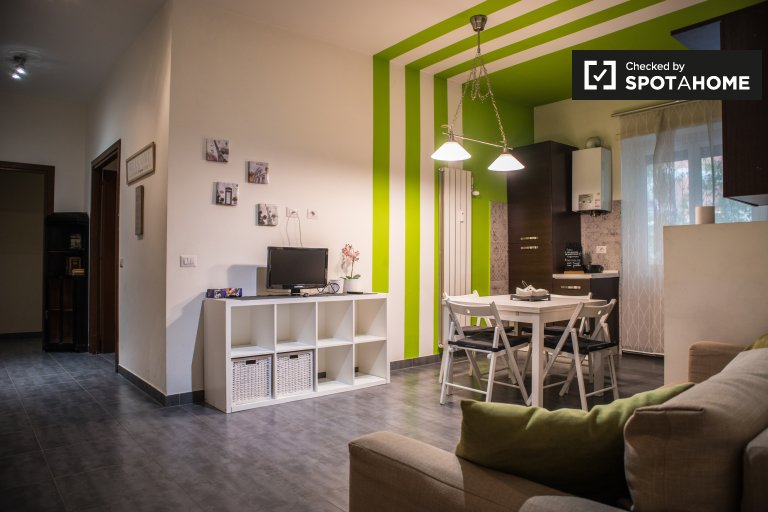 Amazing 4-bedroom apartment for rent in Portuense, Rome