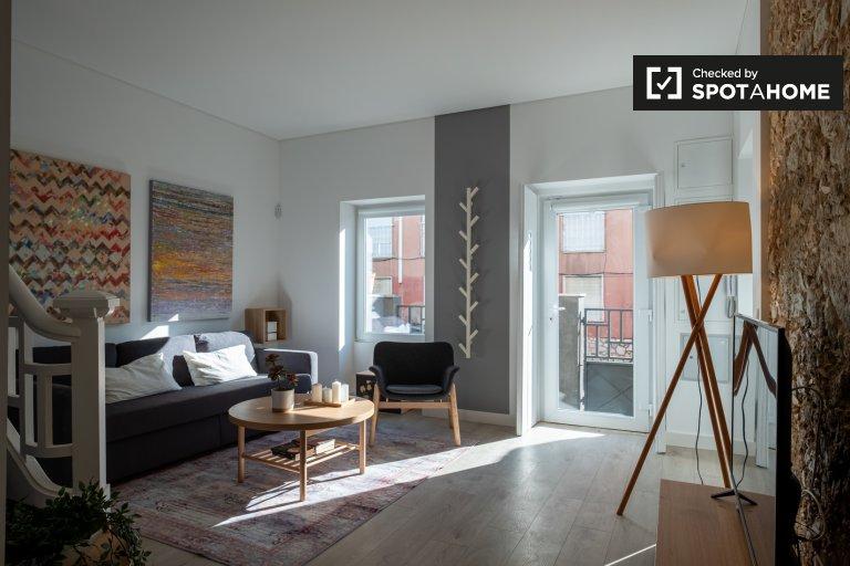 Casa con 3 camere da letto in affitto ad Areeiro, Lisbona