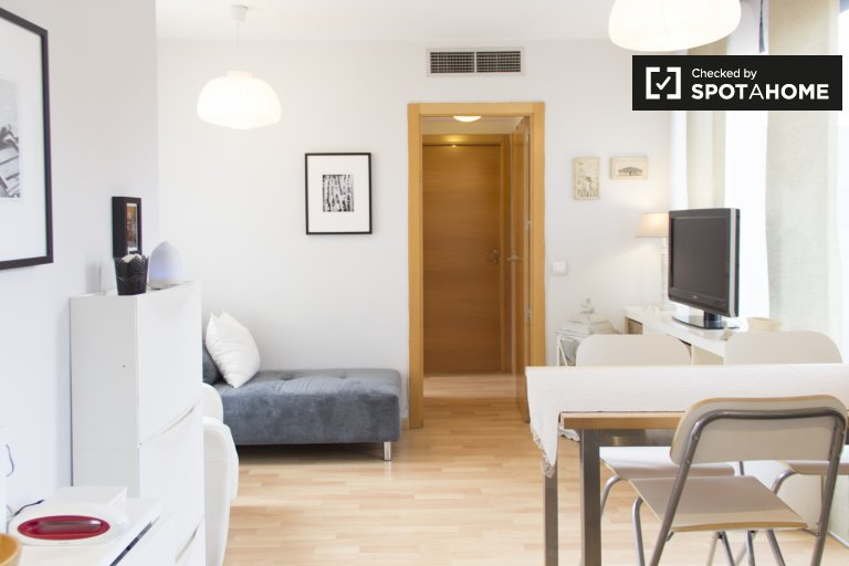 Bright 2-bedroom apartment with pool for rent in Retiro