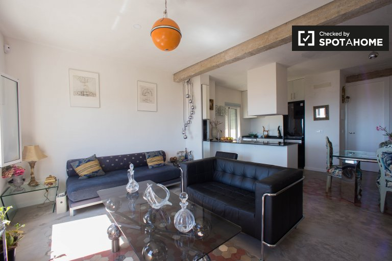1-pokojowe mieszkanie do wynajęcia w Poblats Maritíms, Valencia