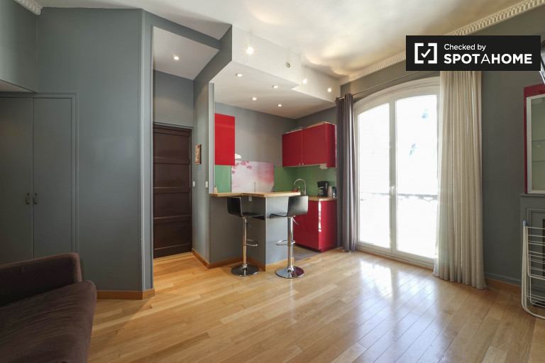 Stylish studio apartment for rent in 9th arrondissement