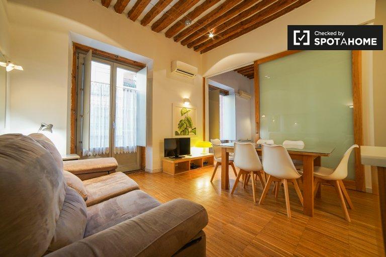 3-Zimmer-Wohnung zur Miete in Madrid Centro