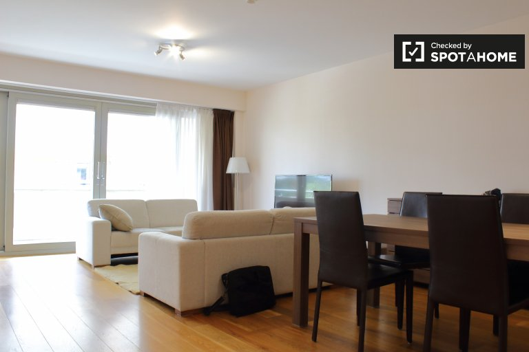 2-bedroom apartment for rent in Ixelles, Brussels