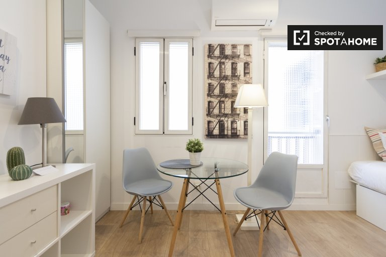Studio-Apartment zu vermieten in Pacífico, Madrid