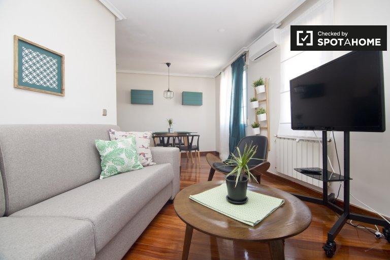 Komfortable 2-Zimmer-Wohnung zur Miete in Lavapiés