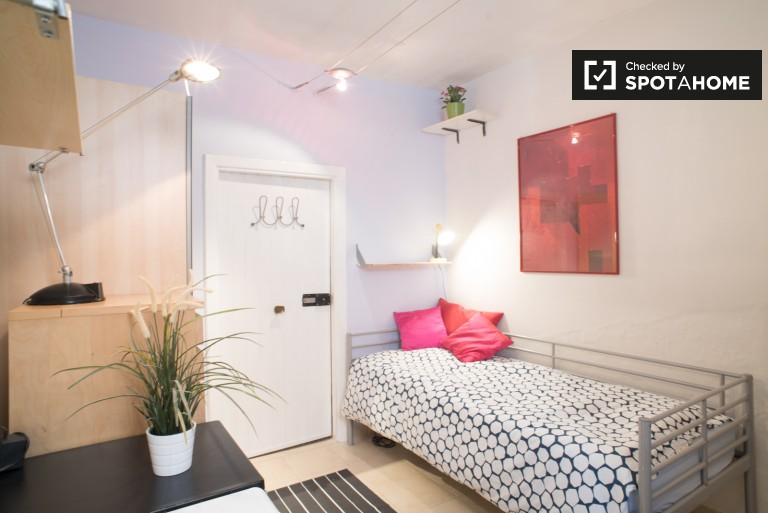 Gemütliches Studio-Wohnung zu vermieten an Studenten in Parioli, Rom