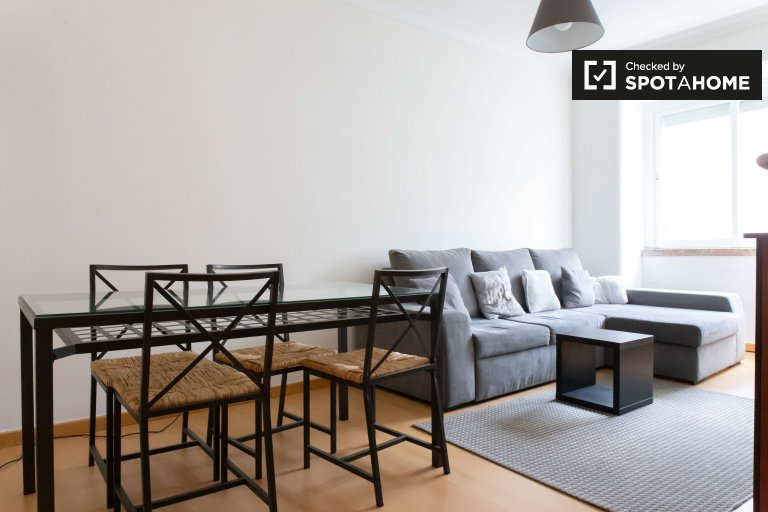 3-bedroom apartment for rent in Penha de França, Lisbon