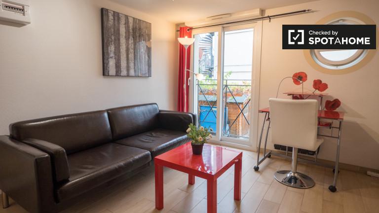 Nowoczesny apartament z jedną sypialnią do wynajęcia w Colombes w Paryżu