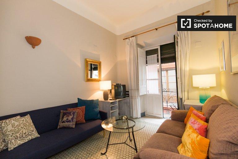 Modern 2-bedroom apartment for rent in Realejo, Granada