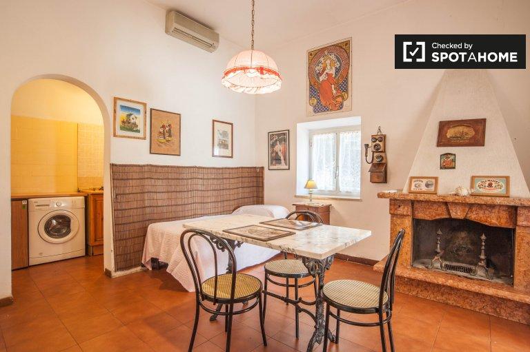 Arrendar apartamento de 1 quarto para alugar em Municipio XII, Roma