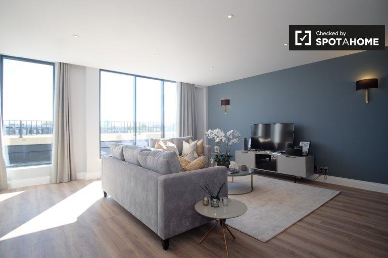 4-Zimmer-Wohnung zu vermieten in Kensington, London.