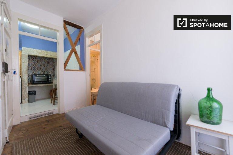 Lizbon, Principe Real'de Kiralık 1 Yatak Odalı Daire