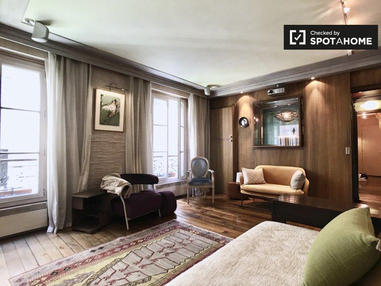 Unique 1-bedroom apartment for rent in 18th arrondissement