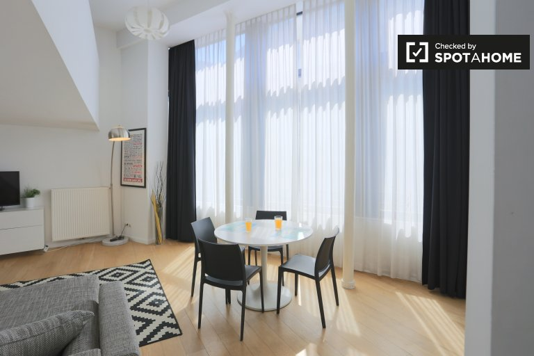 Studio apartment for rent in Brussels' City Centre