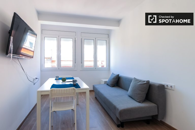 Möblierte 1-Zimmer-Wohnung zur Miete in Sants, Barcelona