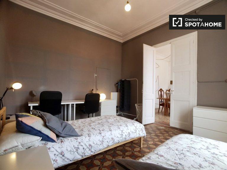 Stylish room in 7-bedroom apartment, Barrio Gotico