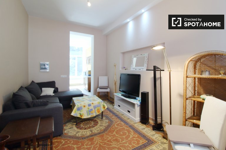 Eclectic studio apartment for rent in Forest, Brussels