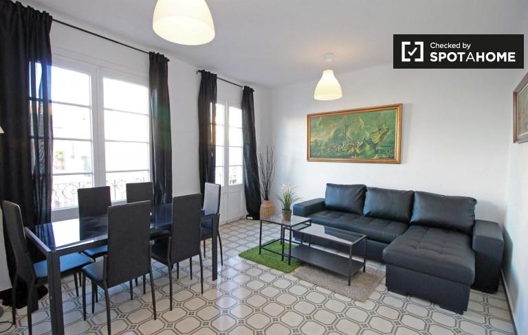 Élégant appartement de 2 chambres à louer - Poble Sec, Barcelone